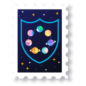 EcoVerse Achievement Stamp